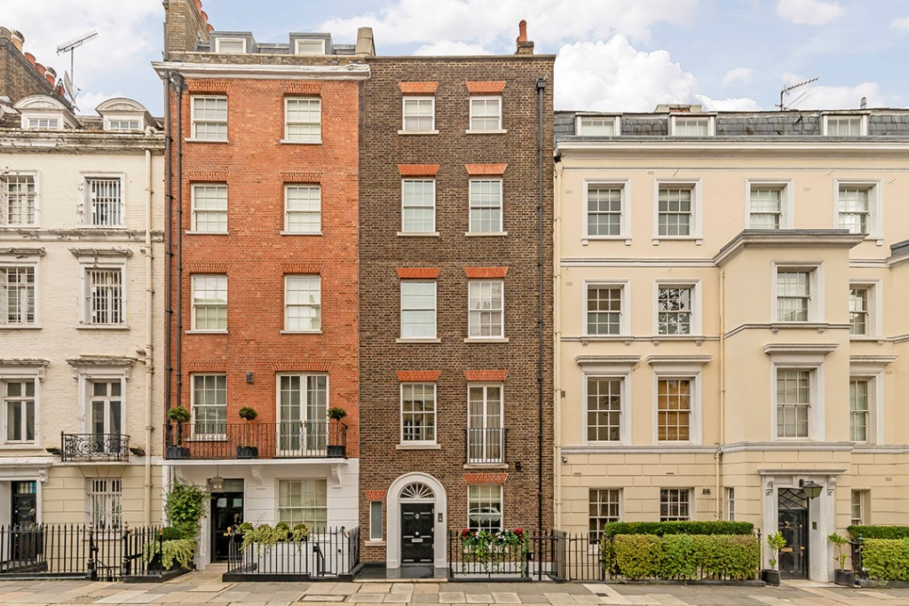 London Mansion Where Fred Astaire Once Lived Lists For 12 4m Exterior