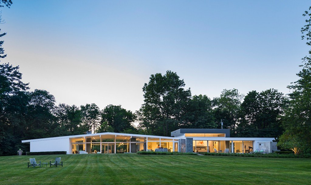 New Canaan Midcentury Modern Designed By John Black Lee Seeks 5m Lawn