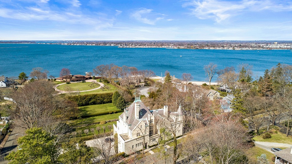 Storied Circa 1913 Marion Castle In Stamford Ct Is Up For Sale