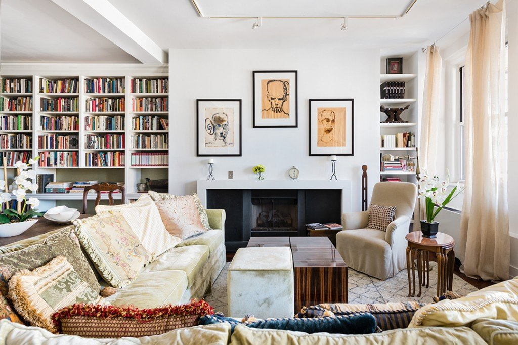 The Late Toni Morrisons Inspiring Tribeca Loft Lists For 4 75m Living Room C
