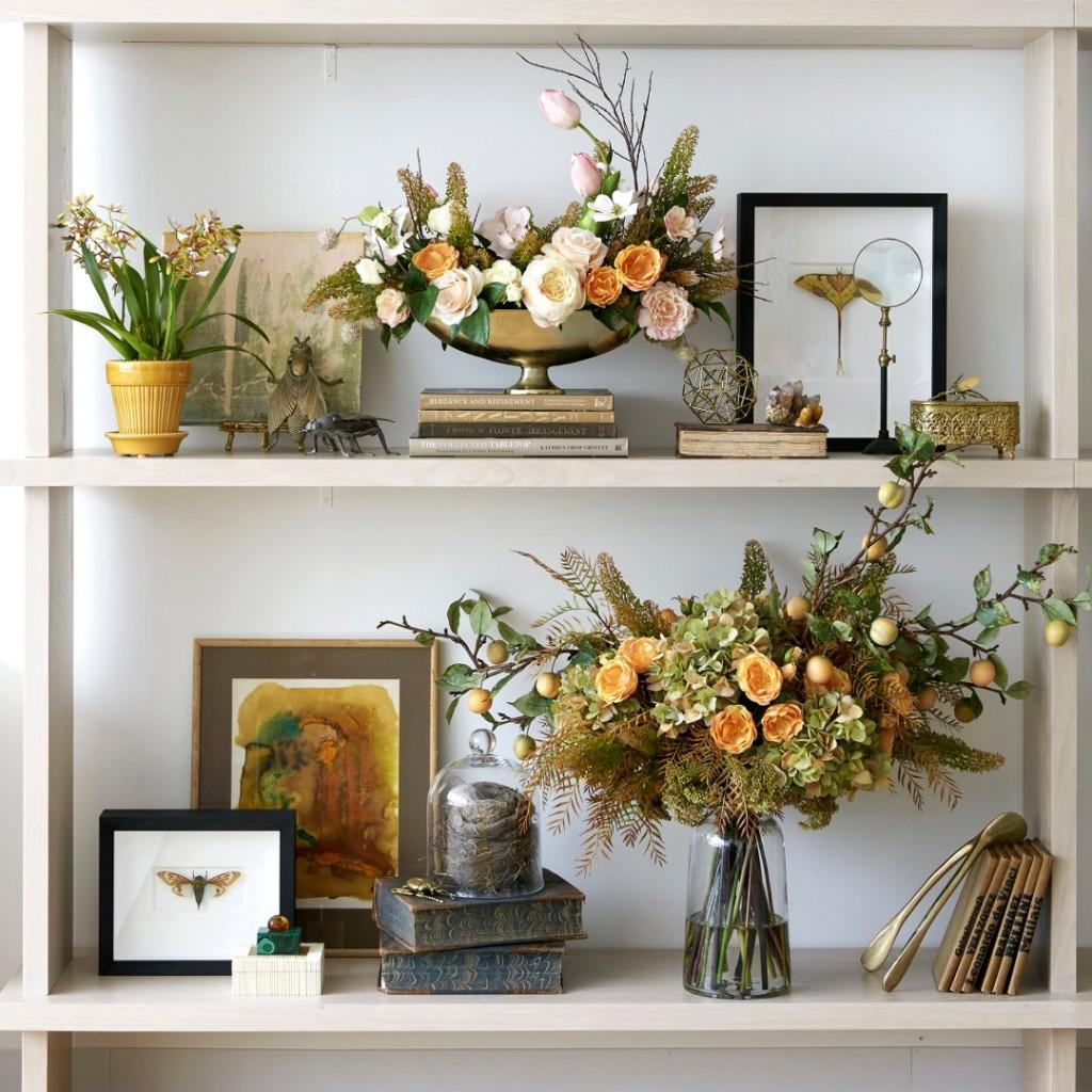 Diane James Home Faux Flowers