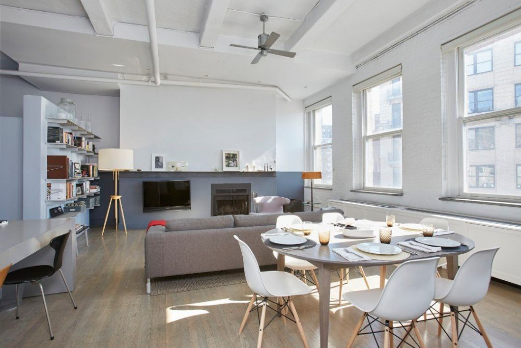 Alan Rickman West Village Condo Loft