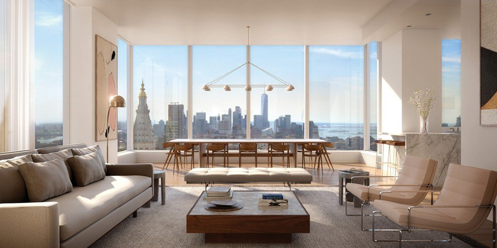 Lavish New York City Apartment With Panoramic Views Lists In Madison House Living