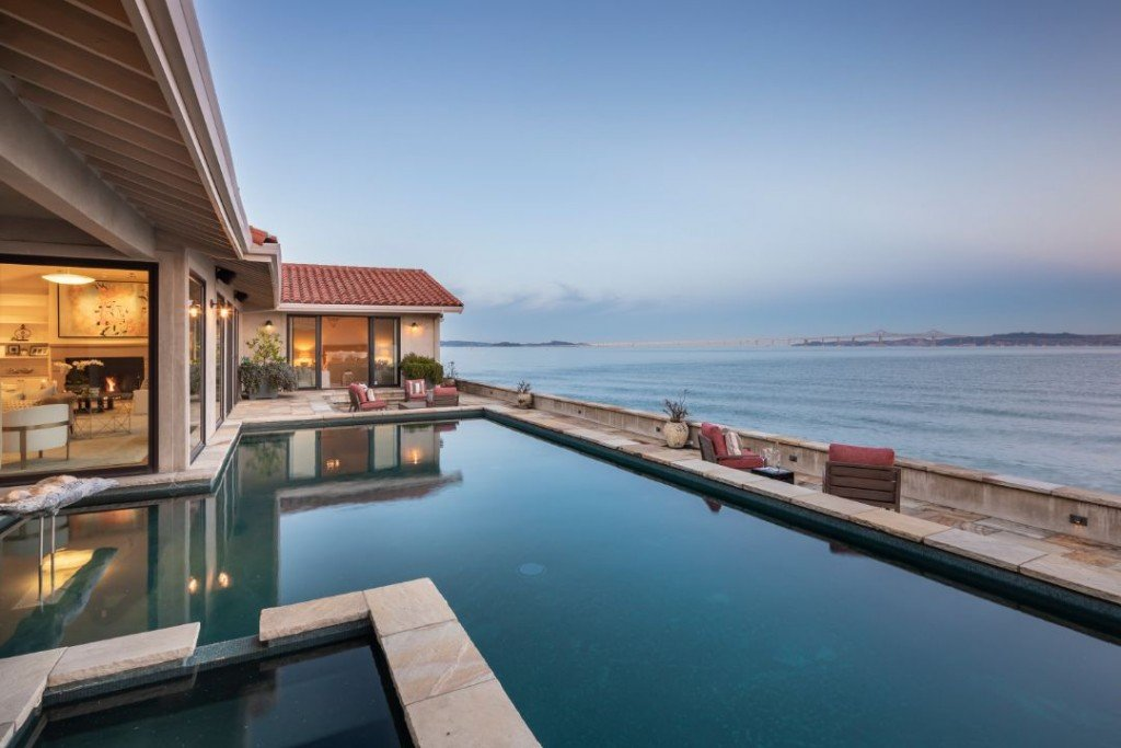 Robin Williams Bay Area Home Pool