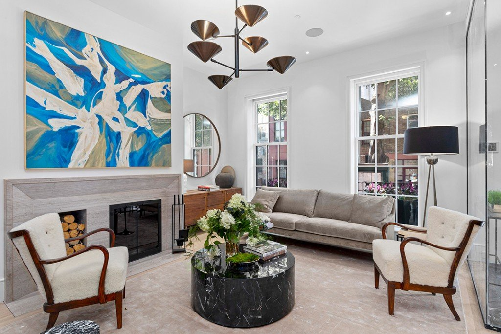 Step Inside A Historic Yet Contemporary West Village Townhouse Seeking 16 5m Living Room