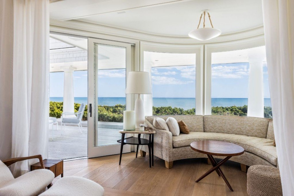 Bernie Madoff Montauk Beach House Sitting Area