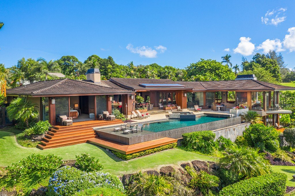 Explore A 27 8m Hawaii Utopia With Spectacular Views House
