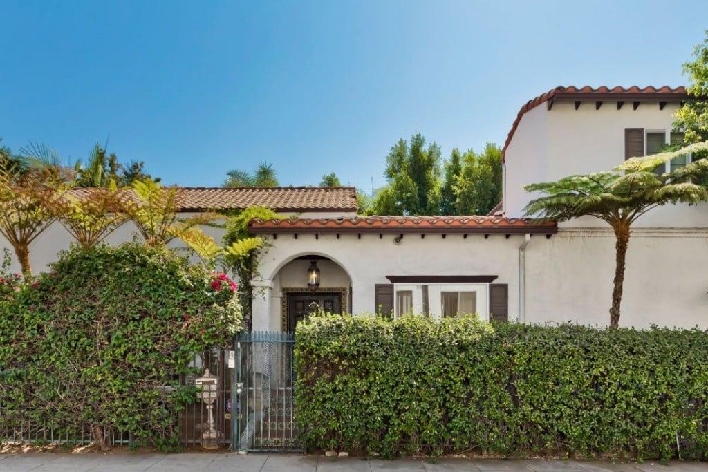 Seth Rogen West Hollywood Sold Exterior