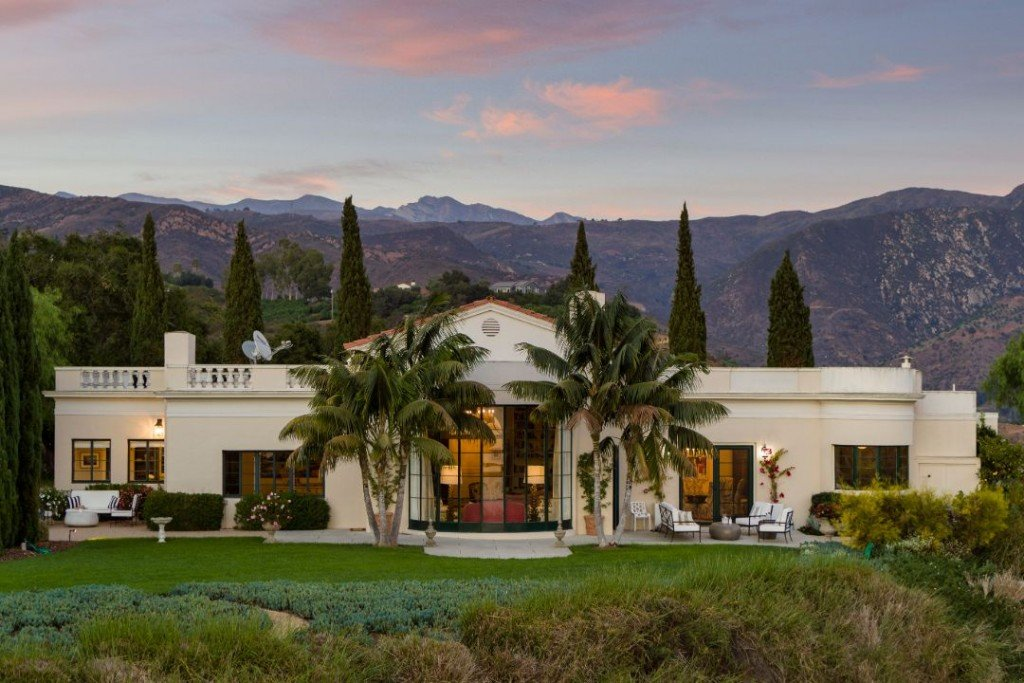 Southern California Santa Barbara Estate Exterior