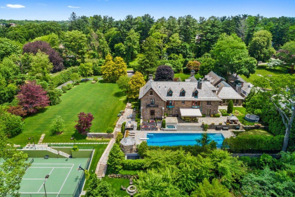 Sunnybrook Rd Bronxville Ny Estate Aerial