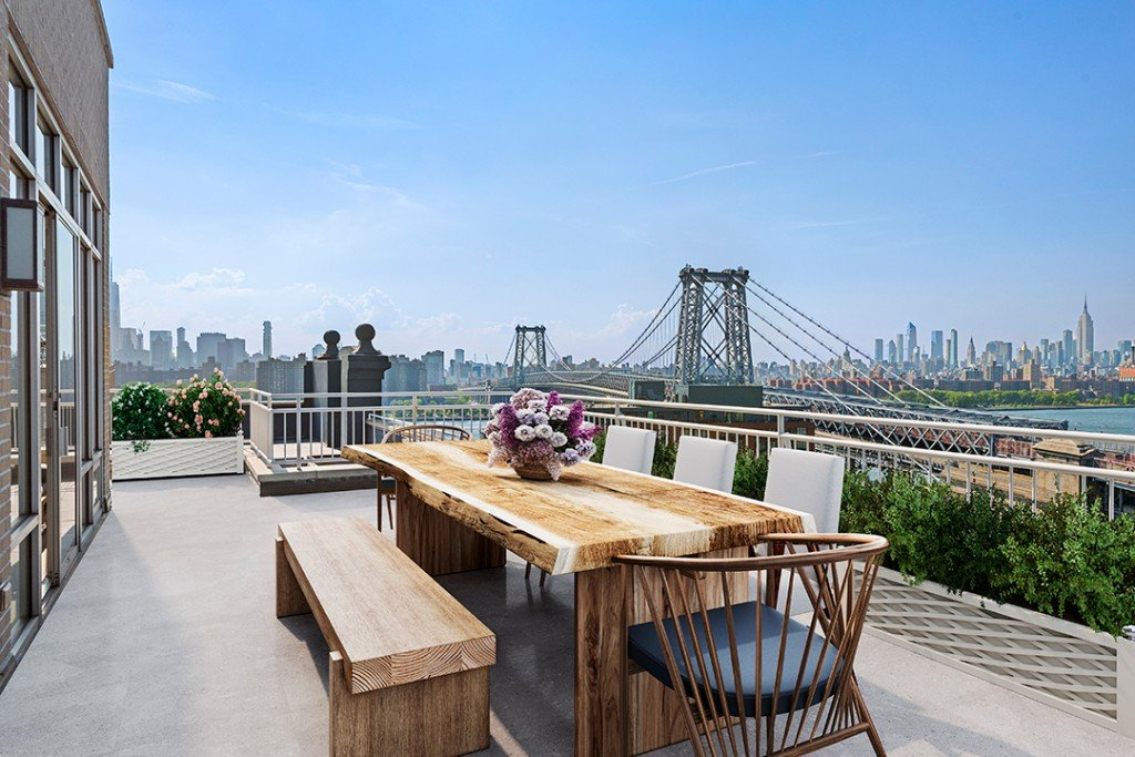 Williamsburg Penthouse Offers Ultimate Rooftop Living For 5 4m Terrace