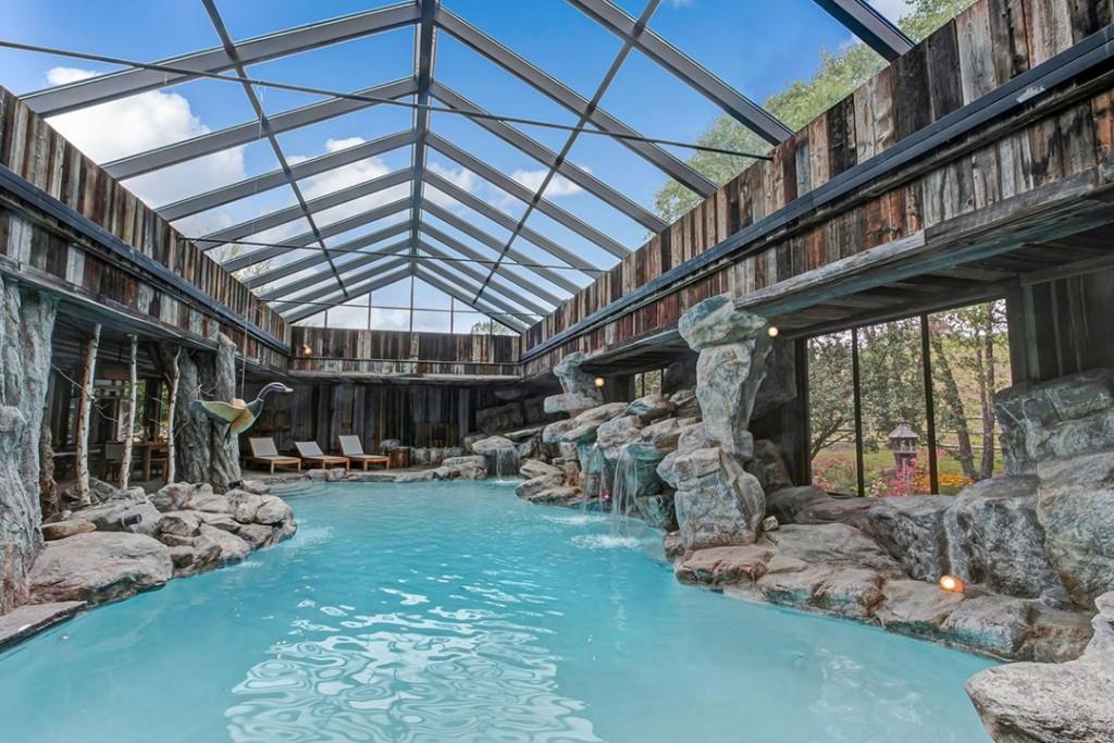 Equestrian Vermont Estate Indoor Pool