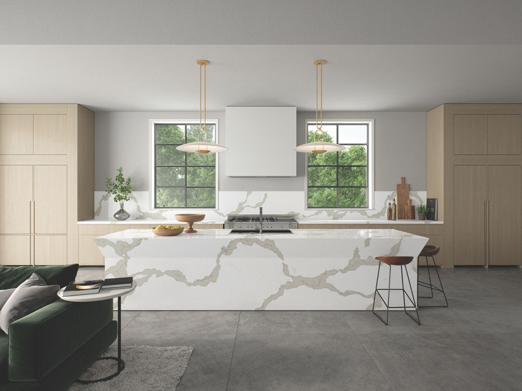 Caesarstone 5114 Calacatta Maximus Modern