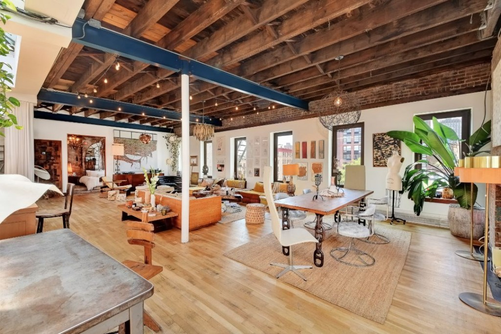 Erin Wasson Les Penthouse Loft