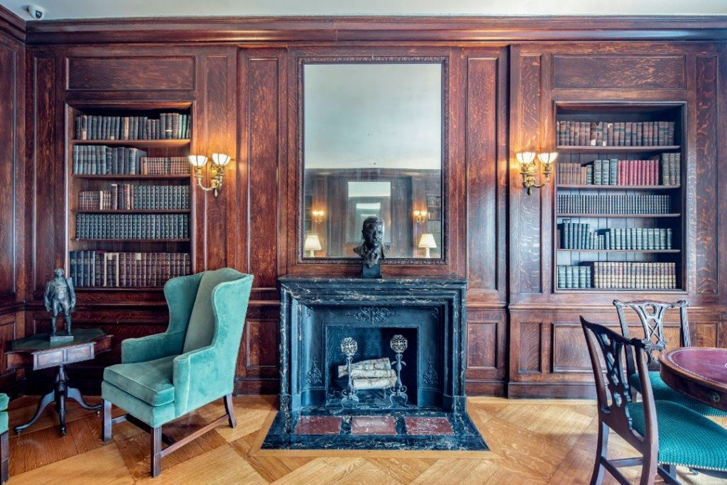 Fifth Ave Upper East Side Townhouse Fireplace