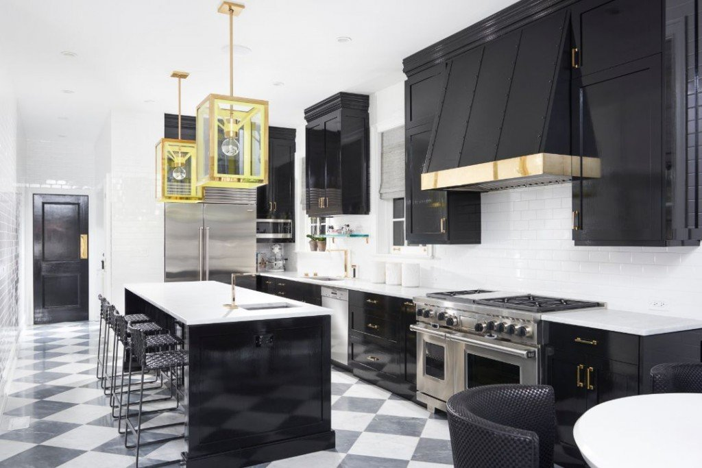 Nate Berkus Chicago Penthouse Kitchen