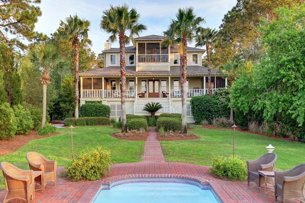Sandra Bullock Sells Beautiful Tybee Island Home Exterior B