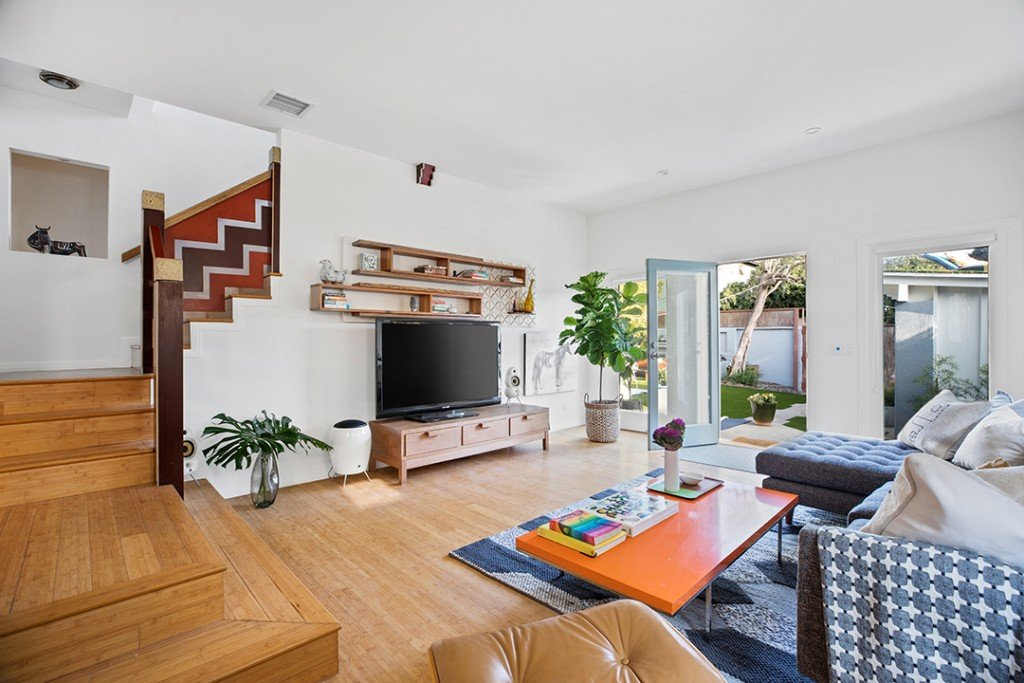 Ty Pennington Lists A Venice Beach Craftsman In No Need Of A Makeover Living Room