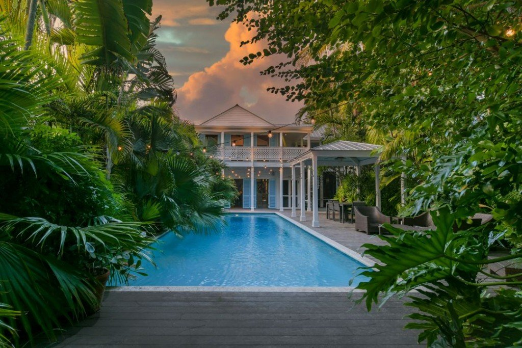 Dale Earnahrdt Jr Sells Key West Home Pool I