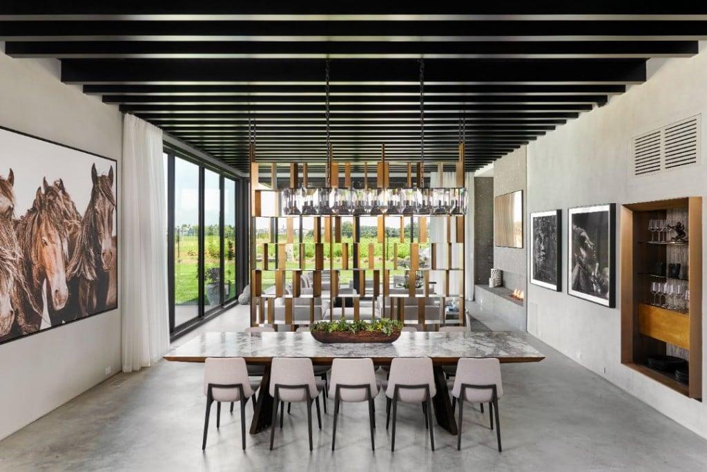 David Axelrod Water Mill Hamptons Home Dining