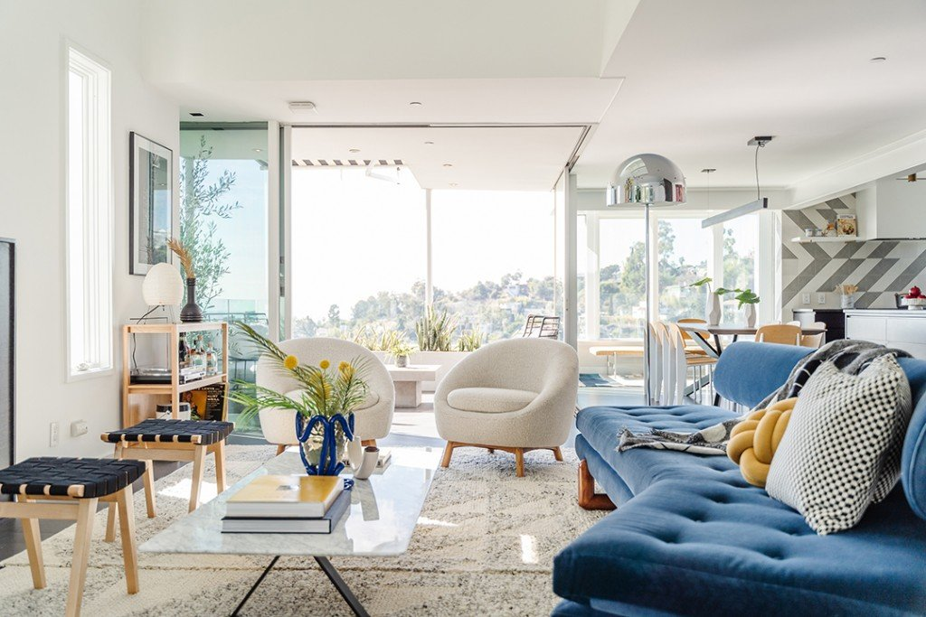 Diplos Cool Hollywood Hills Home Just Hit The Market Living Room D