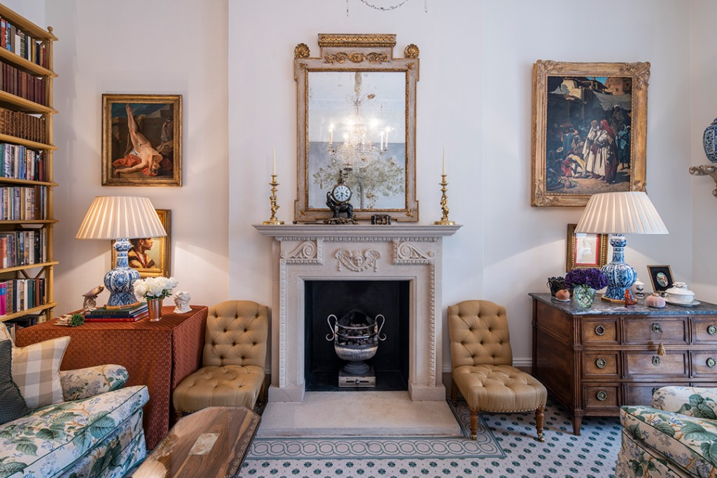 Duchess Of Marlborough Lists Exquisite Belgravia Eaton Place Townhouse Lounge
