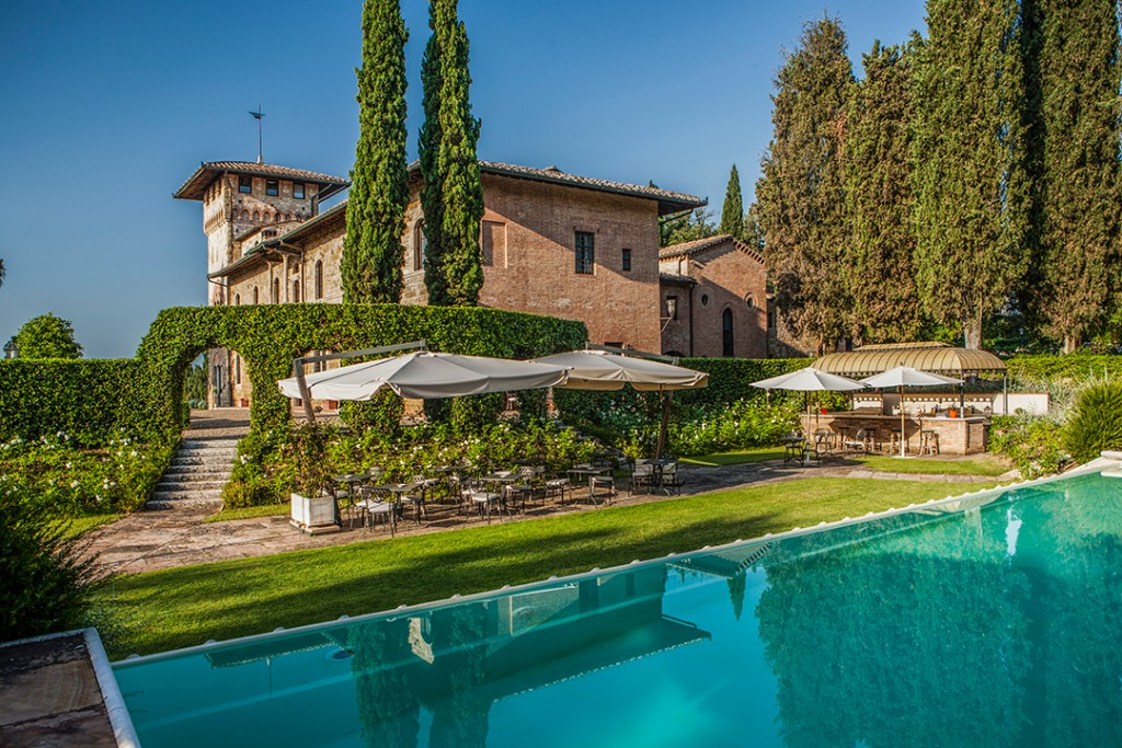 Enchanting Hotel In Tuscany Is Up For Sale Pool C