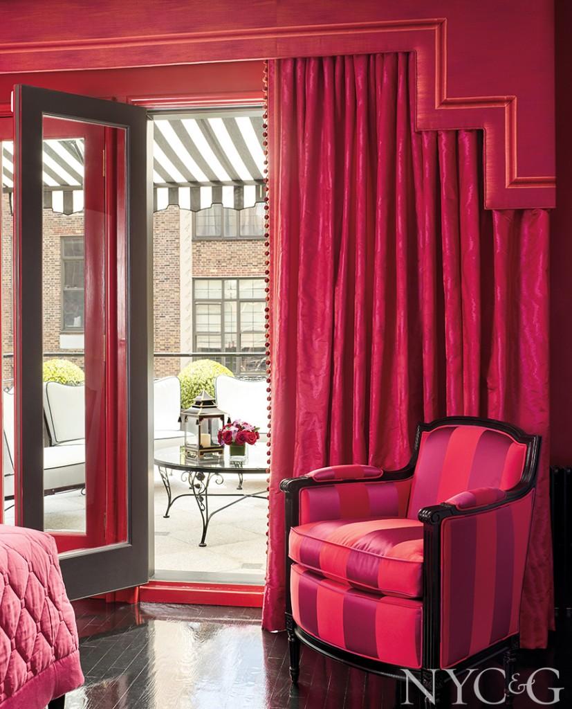 Home Tour Maison 24 Art Deco Era Townhouse Bold Interiors Red Room