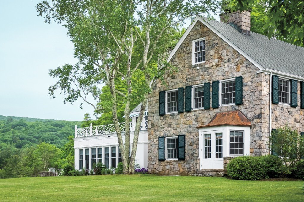 Inside A Southern Style Home In Litchfield County