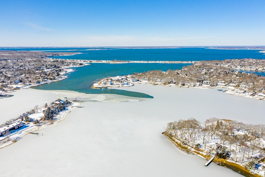 John Steinbecks Famous Sag Harbor Home Lists For 17 9m Aerial B