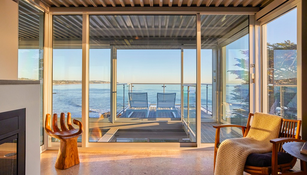 Pierre Koenig Malibu Beach House Balcony