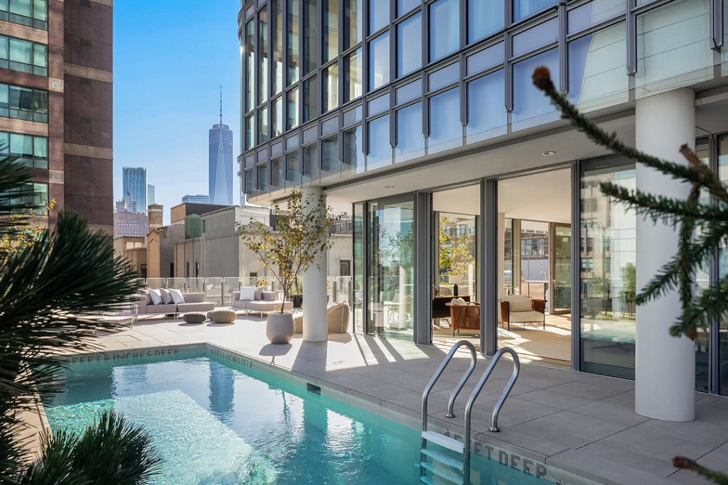 Rare New York City Duplex With A Private Pool Wants 14m
