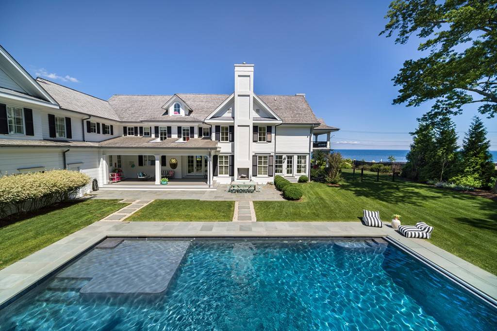 Step Inside A 11m Classic Home On Westports Compo Beach Pool B