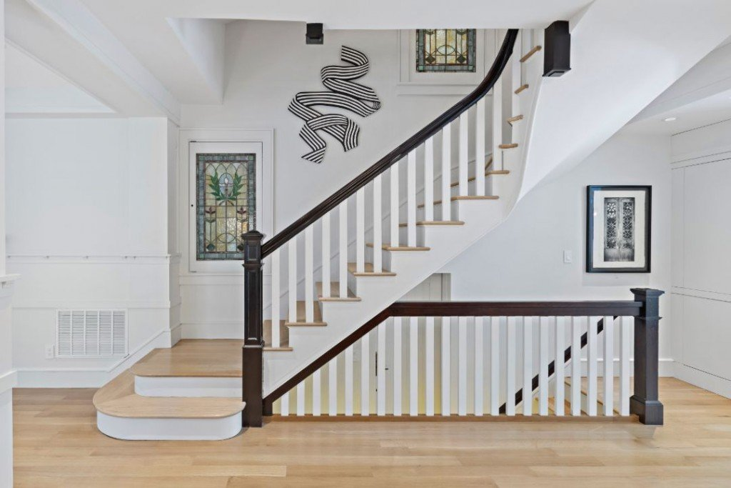 Hoboken Hudson Street Home Stair