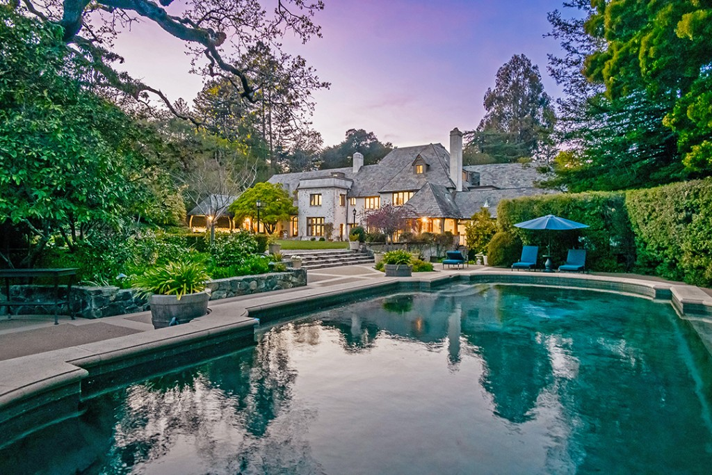 Bing Crosbys Former Bay Area Home Hits The Market Pool B