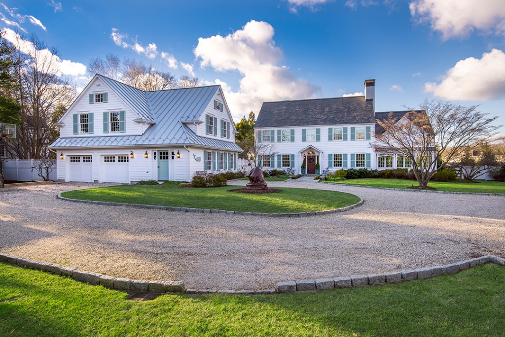 Renovated Circa 1928 Ridgefield Home Near Town Hits The Market Facade