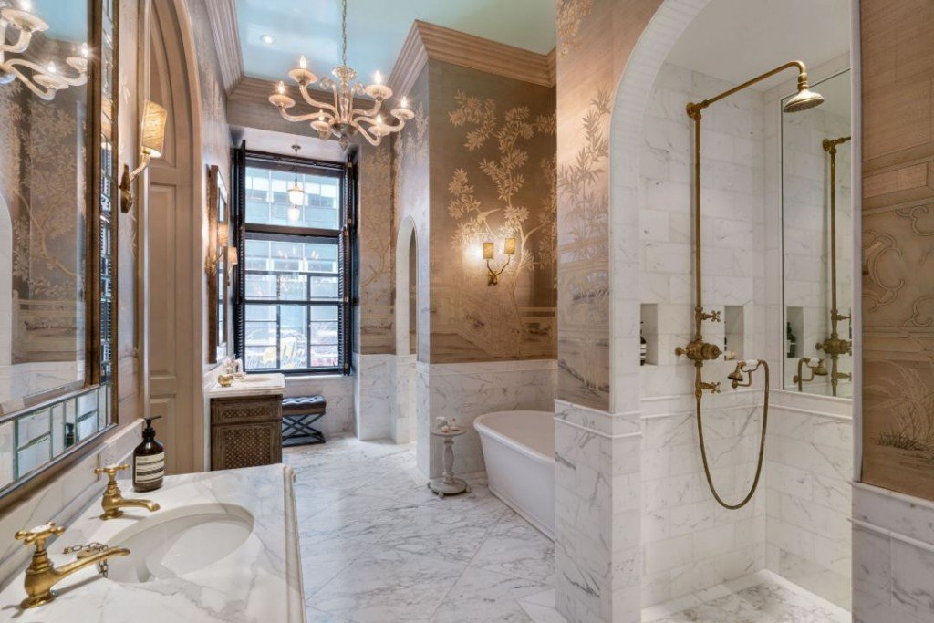 The Osborne West 57 Street Apartment Bathroom