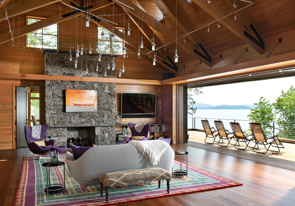 Make Way For A Montana Modern Immersed In Nature And Listed For 17 5m Living Room