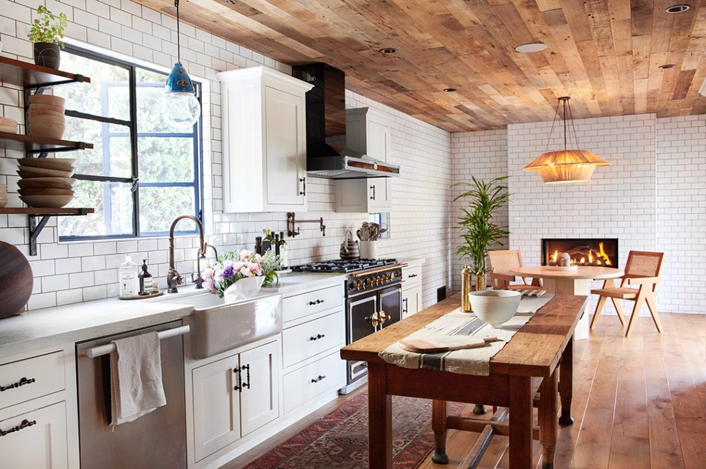 Ashley Tisdale Unloads A 1923 Built Los Feliz Home Kitchen B