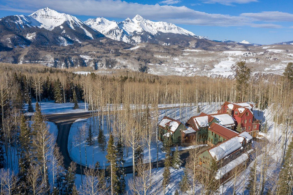 Jerry Seinfeld Relists His Extravagant Colorado Getaway Mountain Views