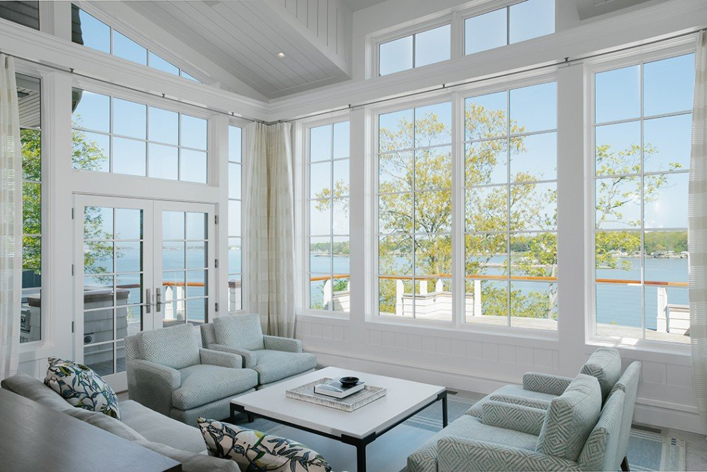 Campresidence Tour A Waterfront Guilford Home That Captures The Coasts Timeless Beauty Camp Residence