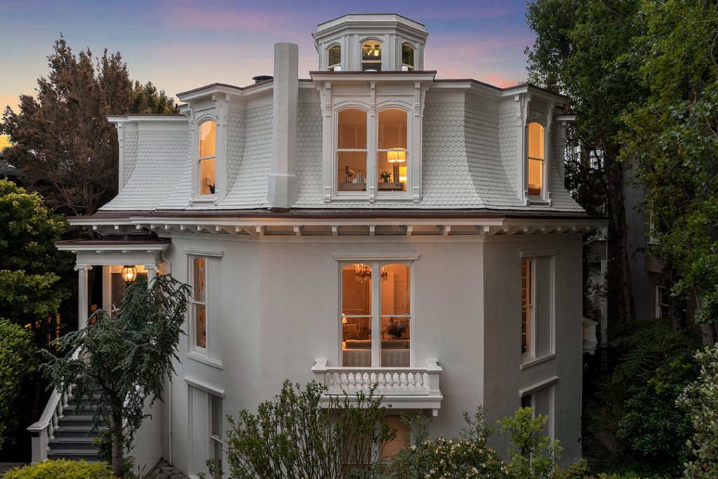 The Feusier Octagon House In San Francisco Just Listed For 8 6m Exterior