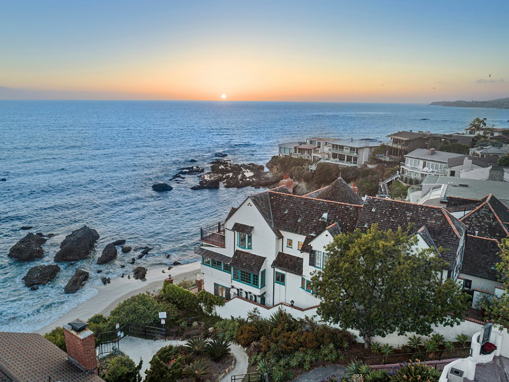 Bette Davis Laguna Beach Home On The Water