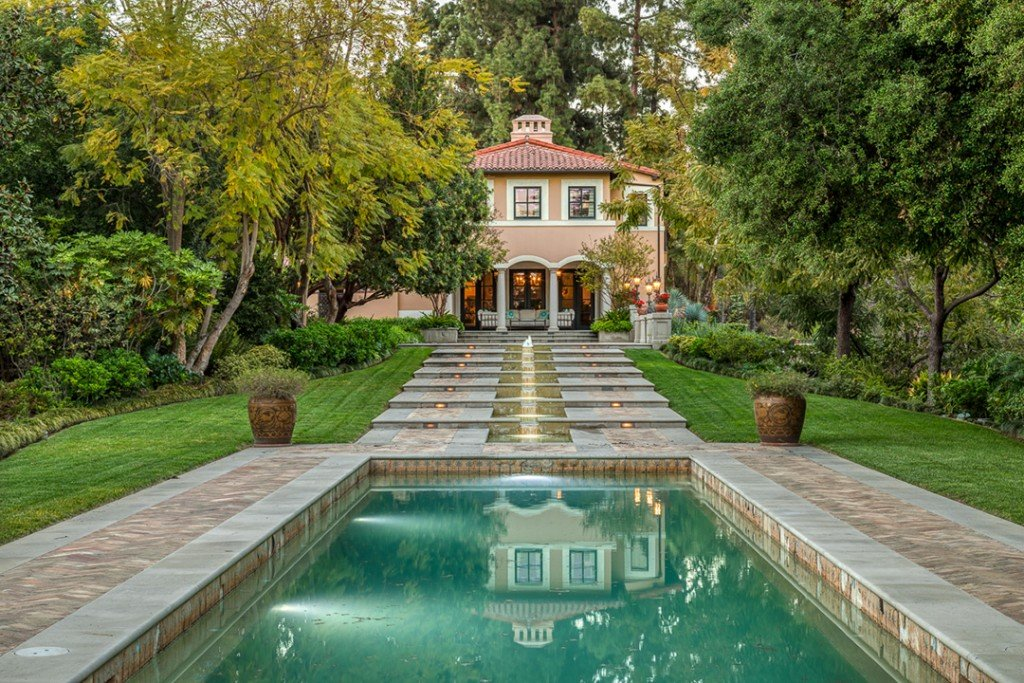 Real Housewives Star Erika Jayne Lists Circa 1928 Pasadena Estate Pool