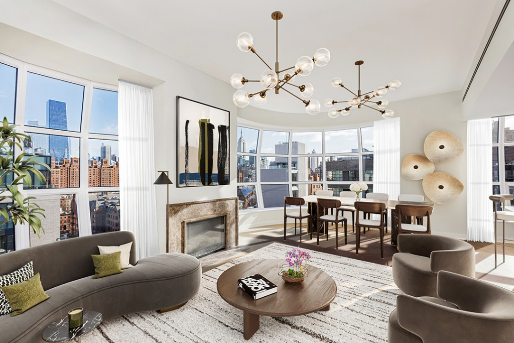 This Light Filled Penthouse In Nycs Lantern House Wants Almost 13m Living Rppm