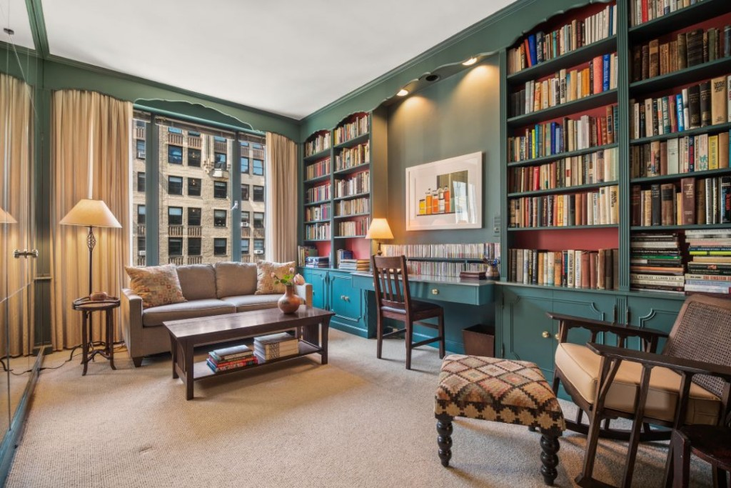 Novelist El Doctorow Sutton Place East 57 Street Apartment Green Library