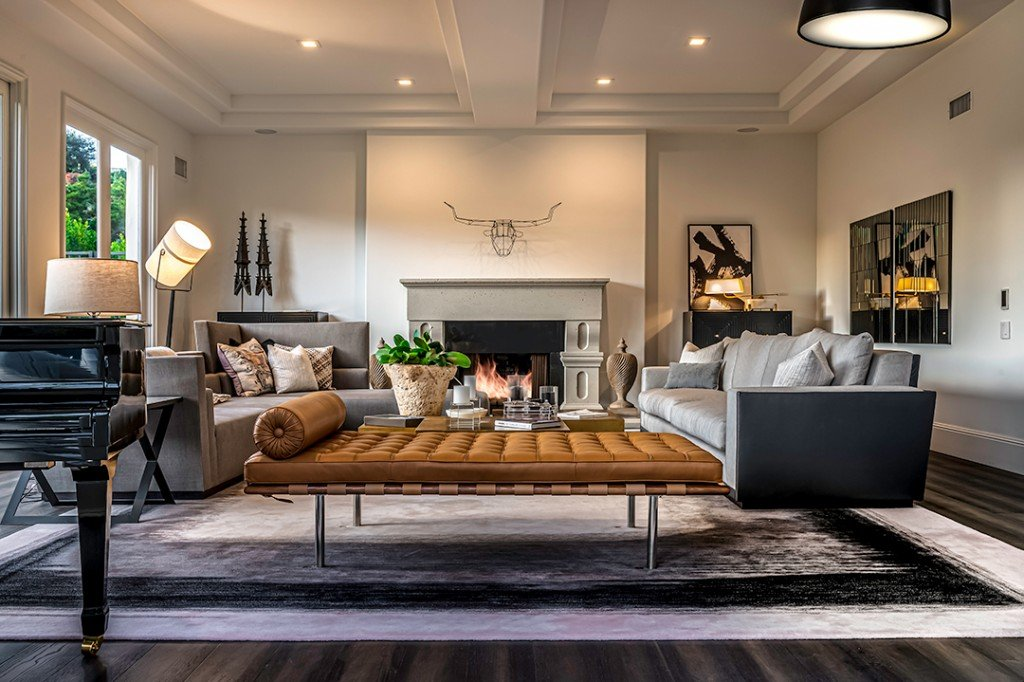 Lindsey Vonn And P K Subban Part Ways With Beverly Hills Home Living Room