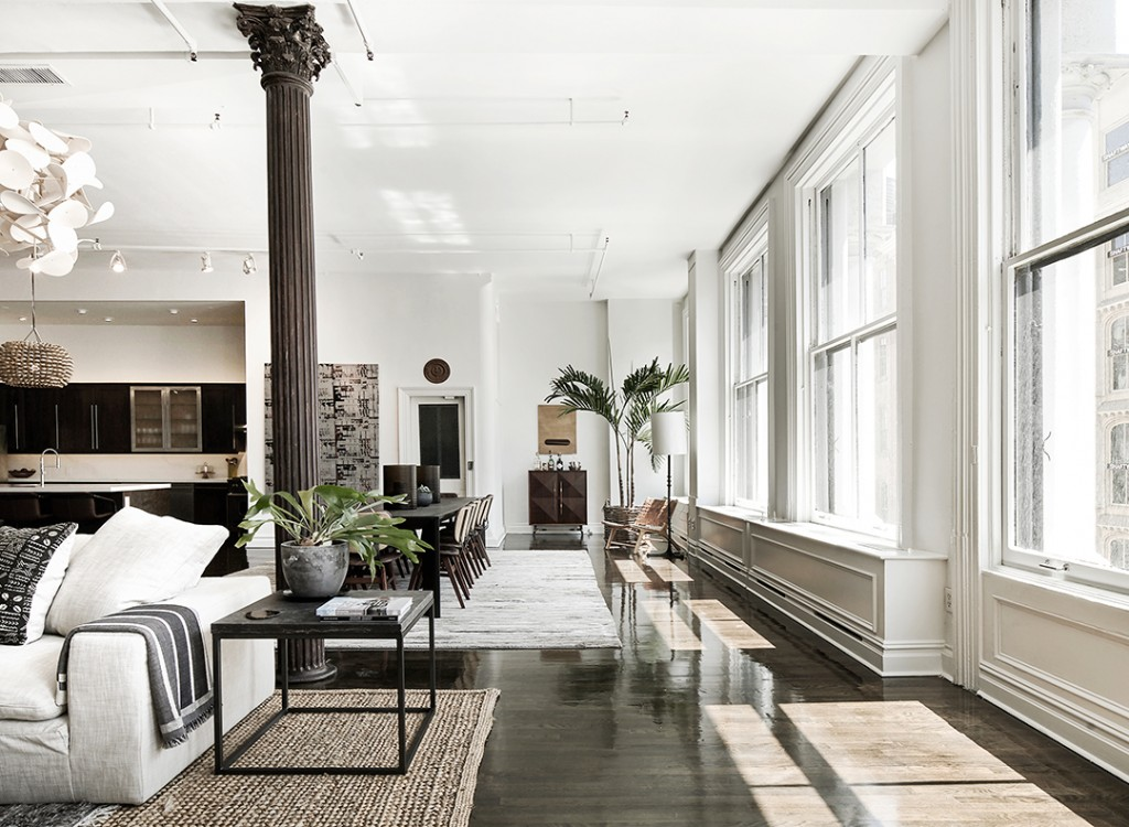 Tour A Bright And Chic Soho Loft Newly Listed For 7m Windows