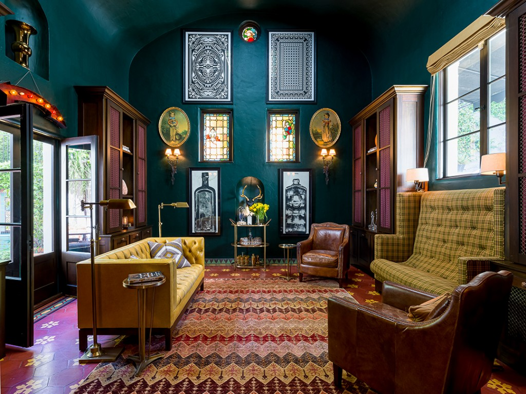 Modern Family Star Parts Ways With Enchanting Spanish Style Home Den