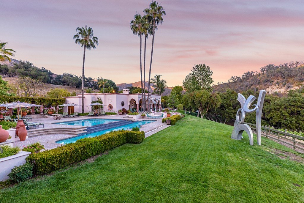 La Hotelier Wants 38m For 180 Acre Malibu Estate Lush With Vineyards Story